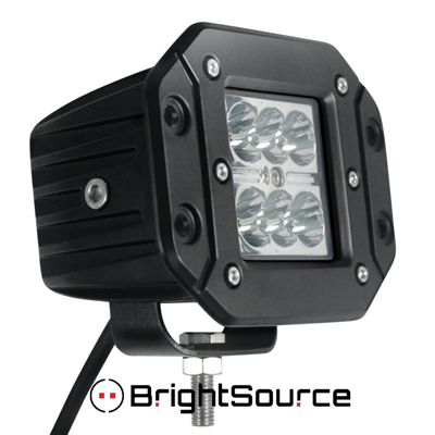 76002 Brightsource 3 Off Road Led Flush Mount Cube Lamp